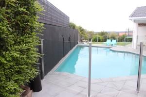 Overcast pool
