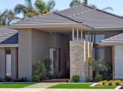 Residential landscaping design construction brisbane for Residential landscape design brisbane