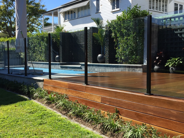 Swimming pool fencing services in brisbane gallery for Pool fence design qld
